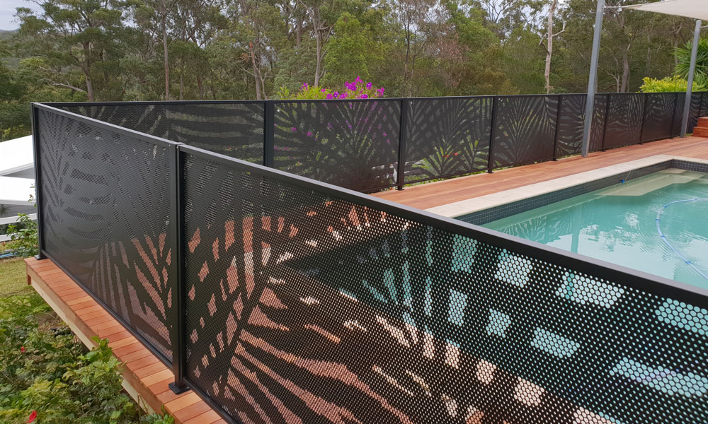 Pool Perf fencing Palmy Design Gold Coast