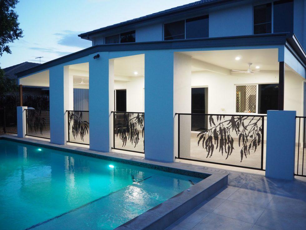 Pool Perf - Gum design - Perfsafe - QLD - Matt Black