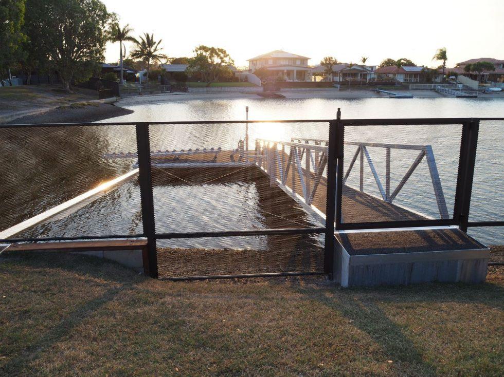 Pool Perf - Matt Monument - Pure Perf - QLD - canal fence ideas - Palm Beach. (4)