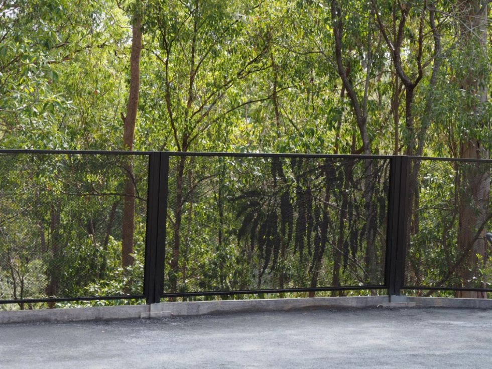 Pool perf - gum and Pure Perf - special posts - pool fence -QLD - Gold Coast