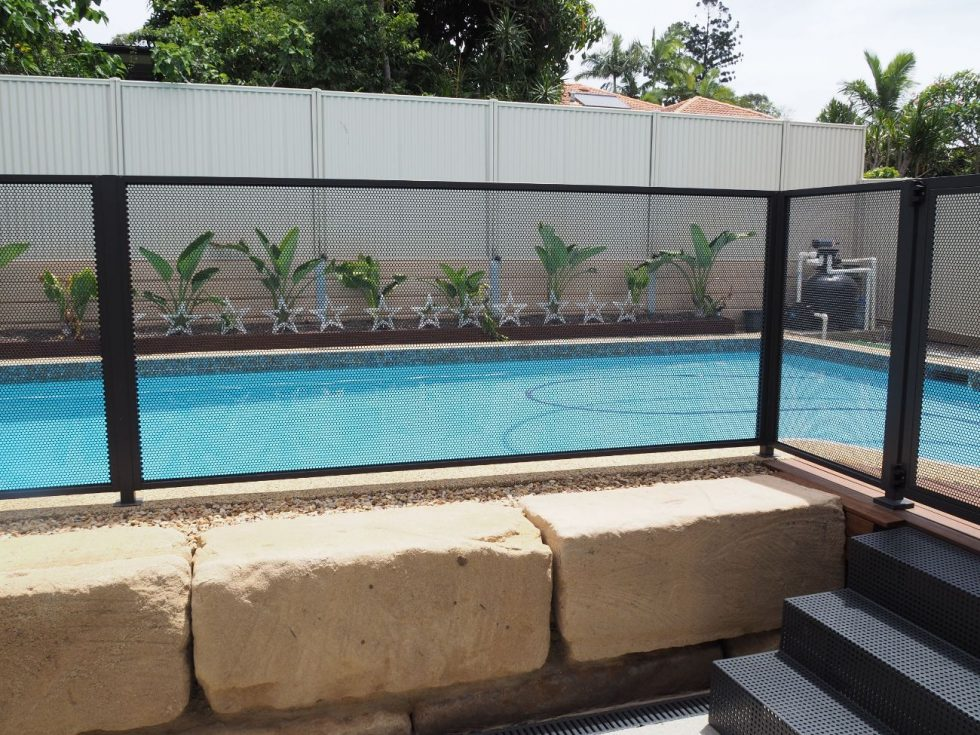 Pool perf - matt Monument - mesh pool fence - Coastal Gates - QLD (2)