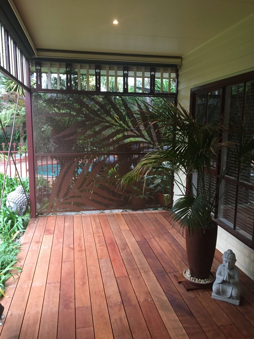 poolperf- decorative screens - corten - Victoria