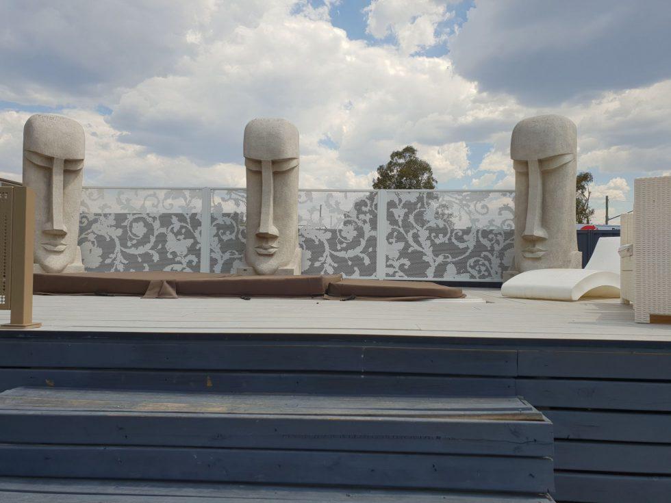 poolperf design mattwhite NSW masterglass