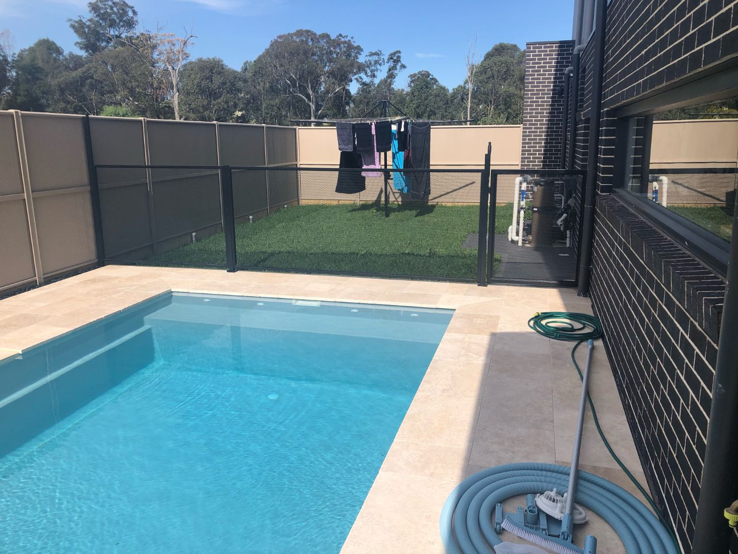 Camden pool fencing in NSW glass fence alternative.